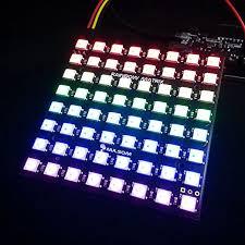 nulsom rainbow matrix for drone arm cortex mcus arduino uc nulsom rainbow matrix for drone arm cortex mcus arduino uc logic level converter 8x8 ws2812b ws2811 neopixel compatible addressable rgb led