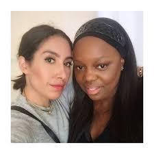hairstylist jen atkin with makeup artist pat mcgrath photo jen atkin insram