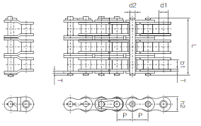 Drive Chain Size Chart Ansi Roller Chain Dimensions How To Measure Chain Chain