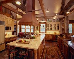 Cabin Kitchens Cabin Design Ideas For Inspiration 40 Mountain Houses