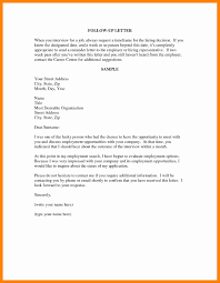 Resumeollow Up Email Brilliant Ideas Of Example Letter To Employer