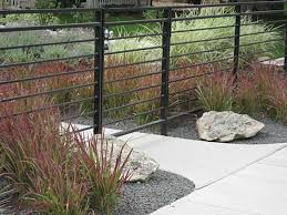 modern metal fences. Beautiful Fences Cool Modern Wrought Iron Gates And Fences Metal Fence With  Horizontal Lines Inside E