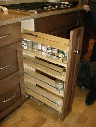 Lowes Upper Kitchen Cabinets Kitchen Pull Out Spice Rack For Deliver More Goods To You