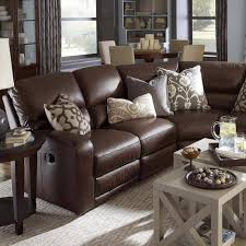 round living room furniture. Astonishing Living Room Decoration With Brown Leather Sofas : Beautiful Image Of Round Furniture E