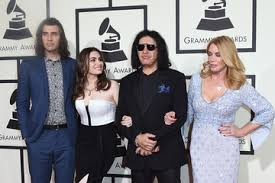 nick simmons and sophie simmons. sophie simmons nick the 58th grammy awards - arrivals and 2