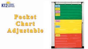 Hanging Pocket Chart Best Hanging Storage Pocket Charts For Classroom Teacher Supplies