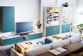 Good Looking White Wall Paint Design Ikea Room Decor With Blue ...