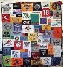 How many T-shirts do you need for a T-shirt Quilt? &  Adamdwight.com
