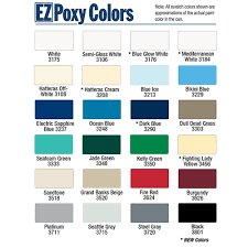 Easypoxy Color Chart Pettit Easypoxy High Gloss Topside Marine Paint