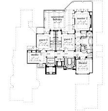 French Chateau Floor Plan From ABG  Alpha Builders GroupLuxury Custom Home Floor Plans