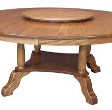 amish round pedestal dining table