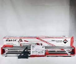 rubi star 24 high performance porcelain ceramic manual tile cutter