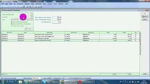 check balancing software a029 bank reconciliation sql accounting software youtube