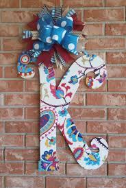 front door letters31 best Initial Letter Door Hanger images on Pinterest  Letter