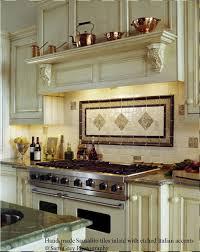 backsplash ideas for behind the range | ... -bronze-tile-backsplash