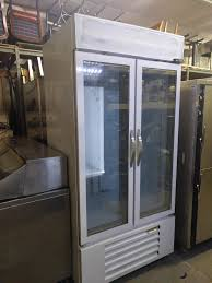 full view used beverage air cfg36 1 freezer