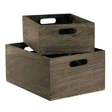 office storage baskets. Office Storage Baskets Wooden Bins With Handles Wicker . E