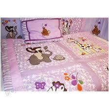 jungle girl 9 piece crib bedding set