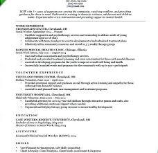 Social Worker Sample Resume Sample Resume Download Sample Social