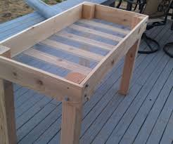 how to build a raised garden bed with legs. Raised Garden Bed Plans With Legs \u2013 Lovable Diy Planter 16 Steps How To Build A M