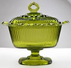 glass compote pedestal bowl with lid designs
