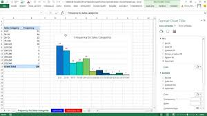 Excel 2013 Pivottables Charts For Descriptive Statistics From Raw Data Sets 5 Examples Math 146