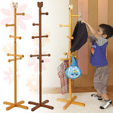 Pencil Coat Rack Coat Racks glamorous childs coat rack Childrens Wooden Coat Stand 67
