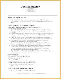 Entry Level Nurse Resume Best Of Entry Level Nursing Resume Unique