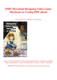 Designing Video Game Hardware In Verilog Pdf Pdf Download Designing Video Game Hardware In Verilog Pdf Ebook