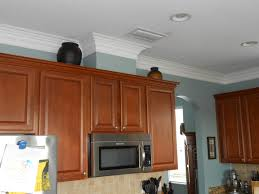 Kitchen Crown Moulding Kitchen Crown Molding Work If The Cabinets Have A Gap Between