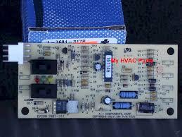 7681 317p coleman evcon lower control board