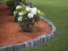 decorative stone garden landscaping ideas home furniture design landscaping edging ideas with stone