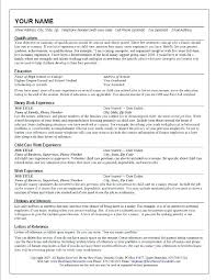 Sample Nanny Resume Ideas - Sarahepps.com -