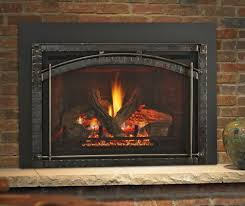 the heat glo escape gas fireplace inserts provide fires glowing embers and