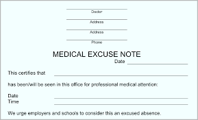 free doctor note generator 16 doctor excuse note generator doctemplates123