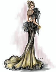 Pinterest Fashion Design Sketches Pin By Cat Valley On Sketches Illustrations In 2019