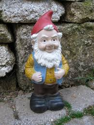 gneil the garden gnome a colorful garden character gnome names cement statues