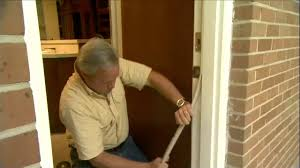 front door weather strippingHow to Replace Worn Weatherstripping Around Doors  Todays Homeowner