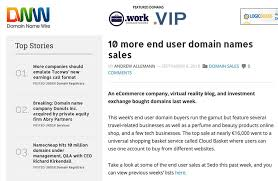 the domain name wire