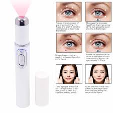 Red Light Therapy Laser Wrinkle Removal Pen Blue Red Light Therapy Acne Laser Pen Beauty Skin Care Facial Skin Tightening Pores Shrinking Anti Wrinkle Beauty Instrument