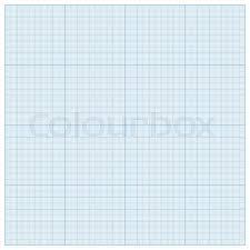 Graph Paper For Geometric Stock Vector Colourbox