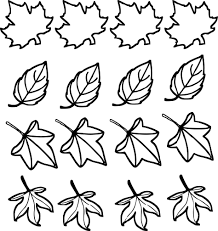 Feuille D Automne Coloriage Dessin Download