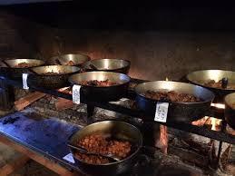 Le Buffet Caris Sur Feu De Bois Picture Of La Marmite