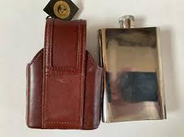 FRANKLIN MINT 10 Point Buck Steel Hip Flask + Leather Case by Rick Fields -  £85.00 | PicClick UK