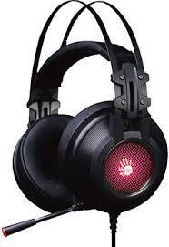 <b>Аудио гарнитура игровая проводная</b> A4Tech Bloody G525 черный ...