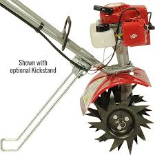 2 cycle tiller kickstand option