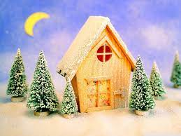 Christmas Landscape Ultra HD Desktop ...