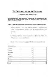 ShowMe   compare contrast essay Scoring Rubric  Comparison Contrast