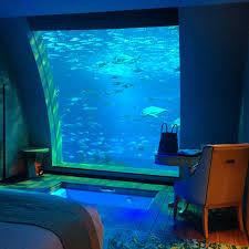 poseidon underwater hotel. 4 Hotel Dengan Pemandangan Bawah Laut Yang Indah Poseidon Underwater