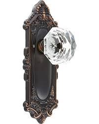 antique looking door knobs. Plain Door Belmont Plate Set With Old Town Crystal Door Knobs Passage Polished Brass  Antique Brass In Looking